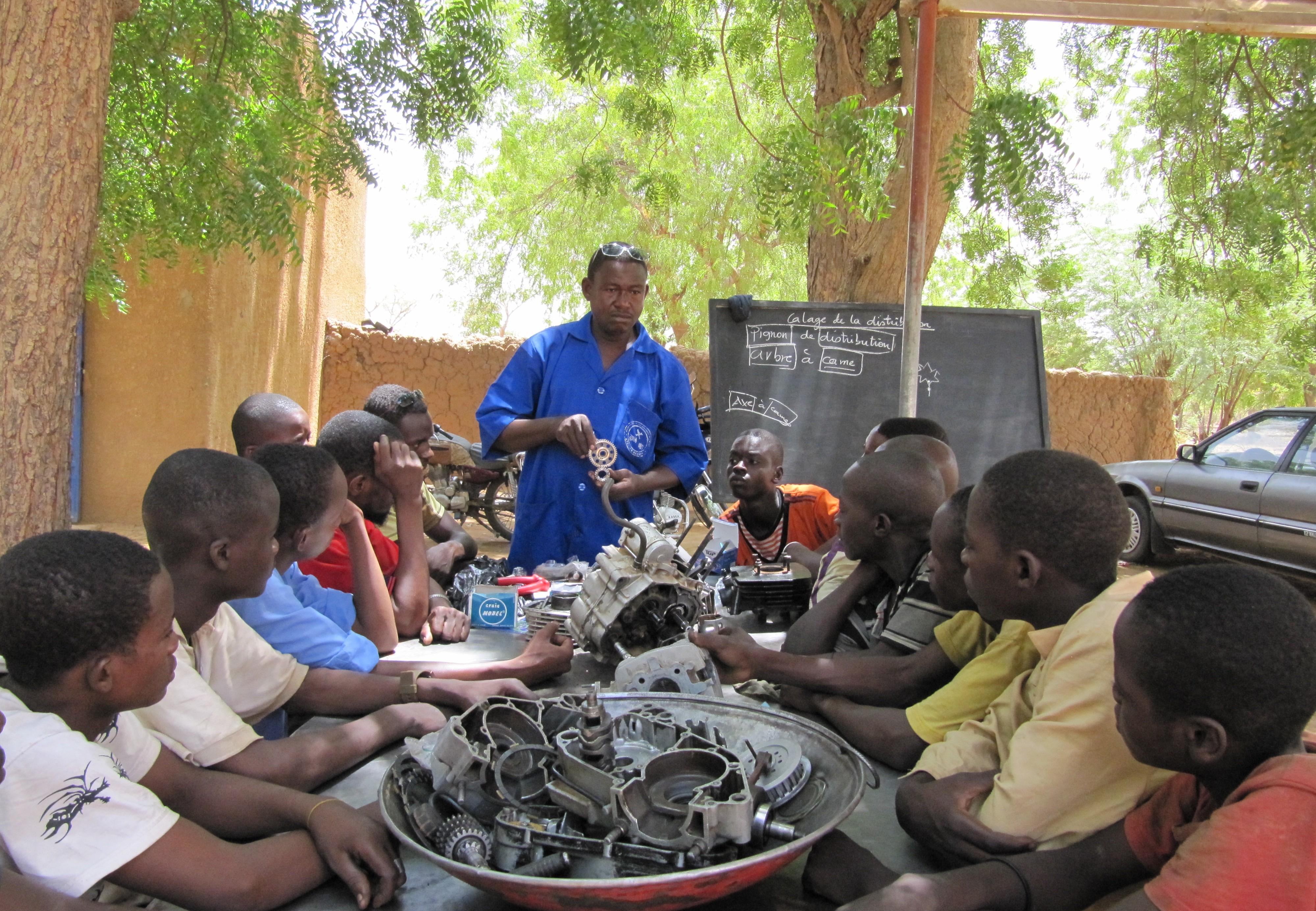 DEZA Niger Mechaniker Geberkomitee
